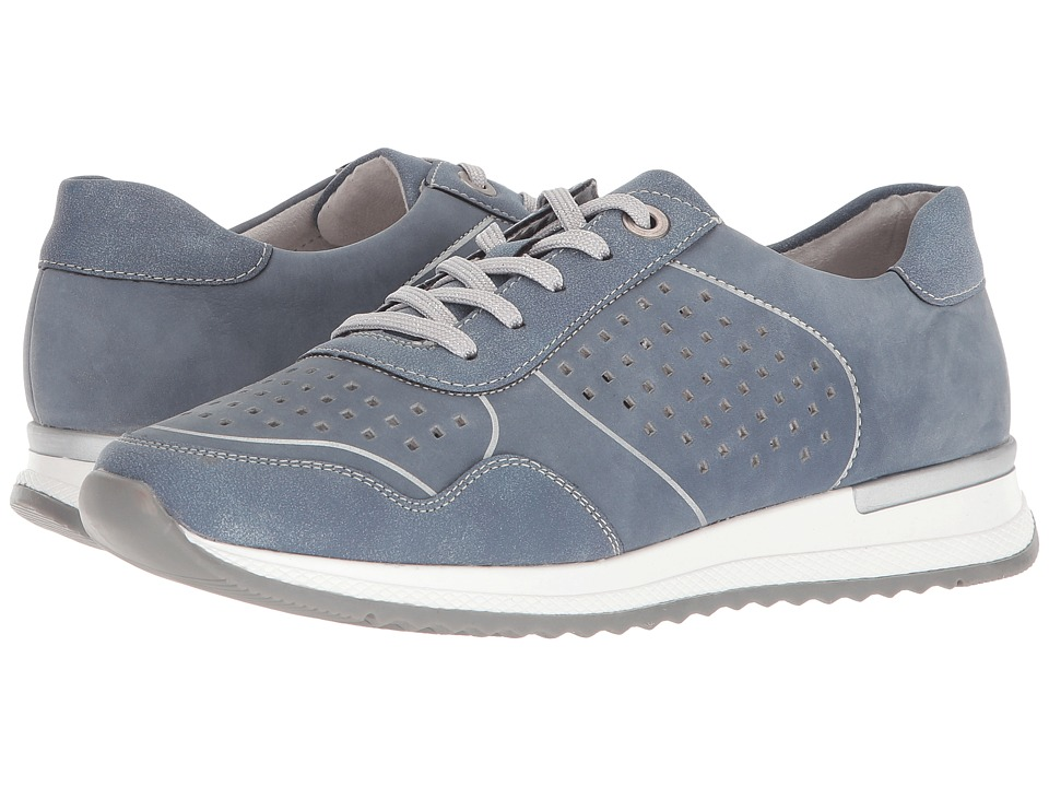 Rieker R7011 Ebrill 11 (Adria/Bleu) Women's Shoes