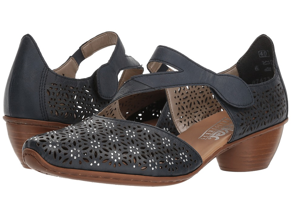 Rieker - 43786 Mirjam 86 (Royal/Royal) High Heels