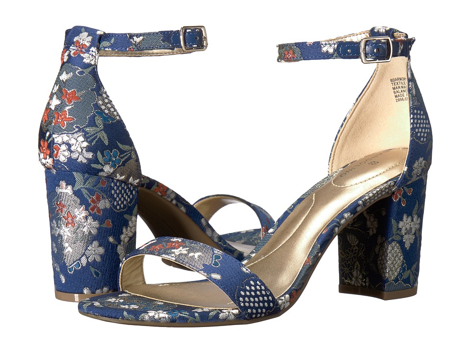 Bandolino Armory (Navy Multi Fabric) Sandals