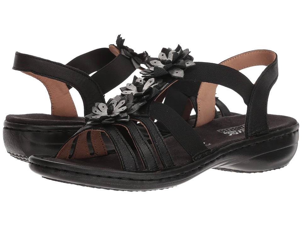 Rieker 60858 Regina 58 Ankle (Black/Alt Silber) Women