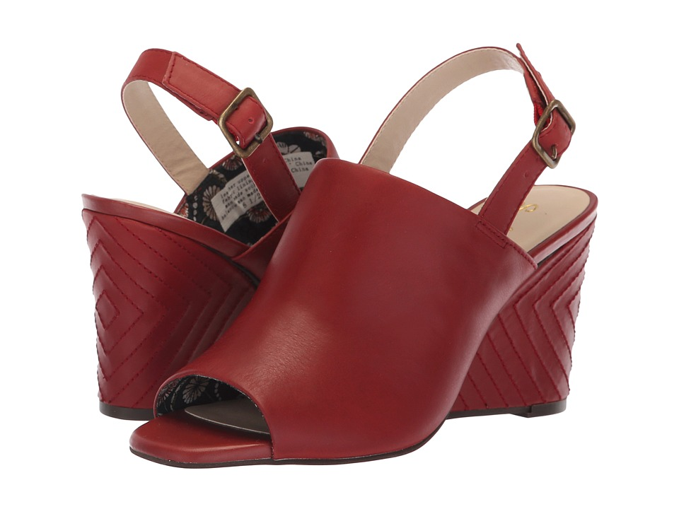 Seychelles Abyssal (Red Leather) Women's Shoes