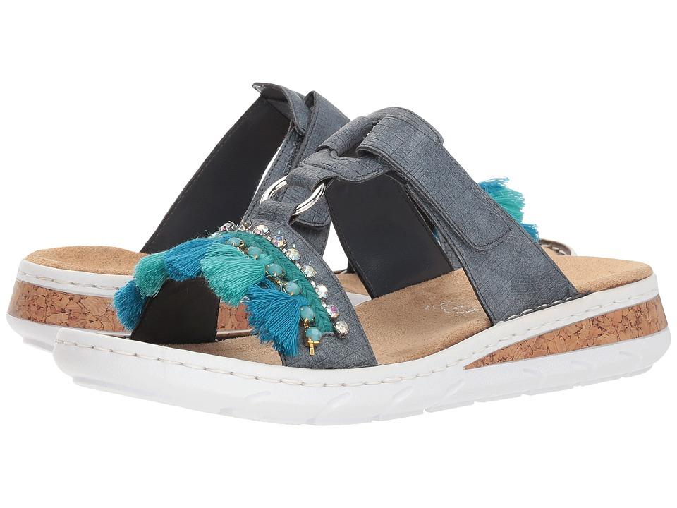 Rieker 618R6 Regina R6 (Jeans) Women's Shoes