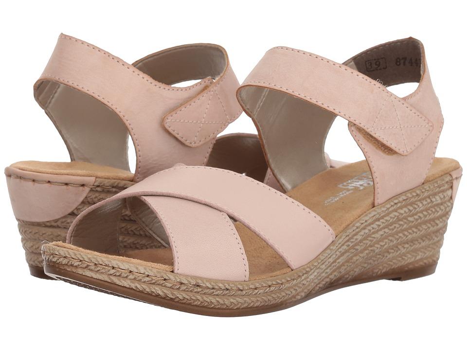 Rieker 62443 Fanni 43 (Altrosa/Rose) Women's Shoes