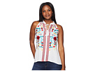 Scully Summer Fun Embroidered Cotton Tank