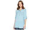 Scully Bina Sexy Fabric Button Front Blouse