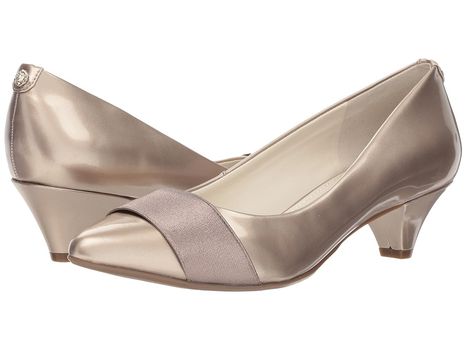 Anne Klein Xaria (Bronze/Metallic Taupe Synthetic) Women's Shoes