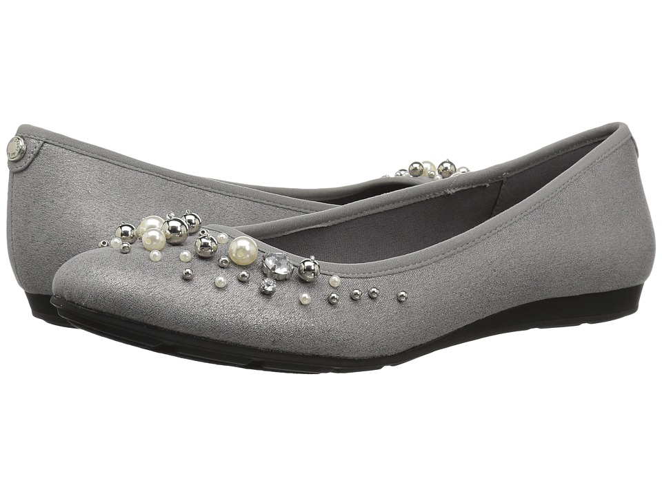 Anne Klein Aveline (Pewter Multi/Light Fabric) Flats
