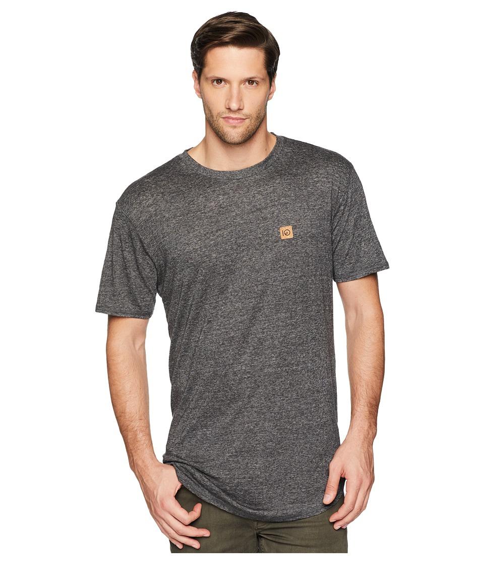 tentree - Drifter T-Shirt (Phantom Fleck) Mens Clothing