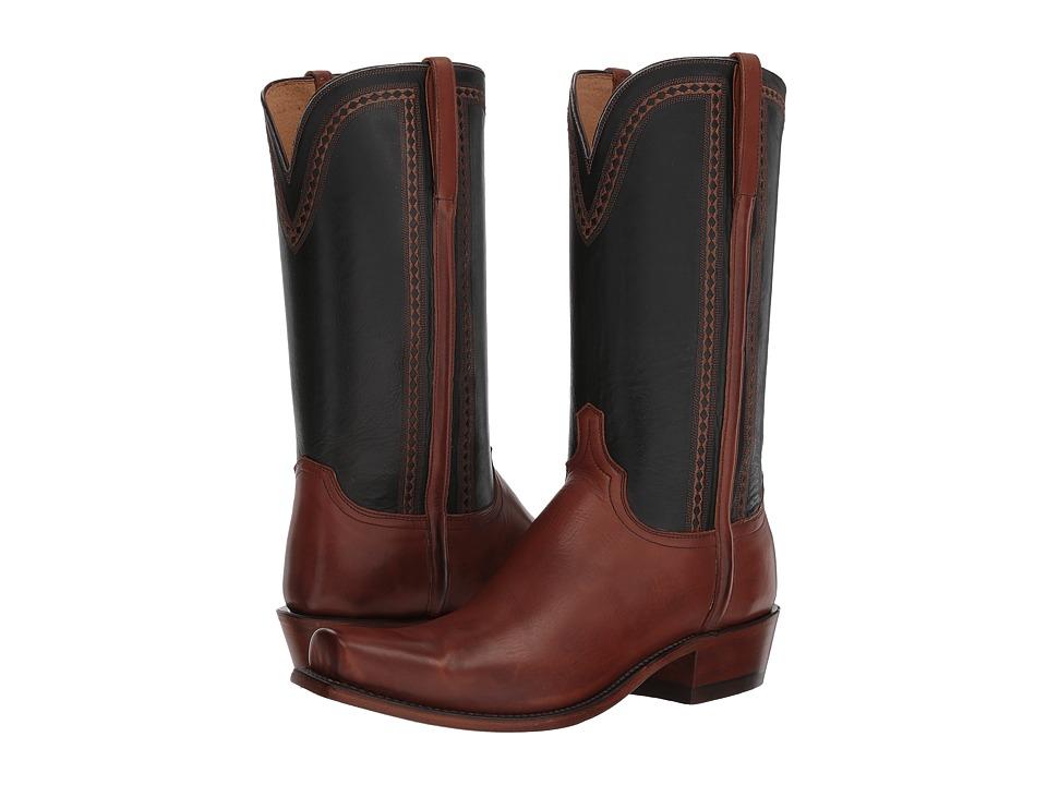 Lucchese Sutton (Tan Jersey Calf) Cowboy Boots