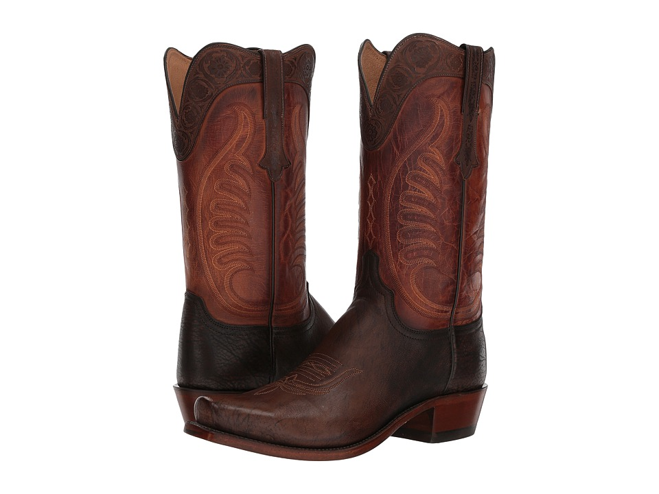 Lucchese Slater (Cigar Goat) Cowboy Boots