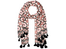 Kate Spade New York Floral Mosaic Oblong Scarf