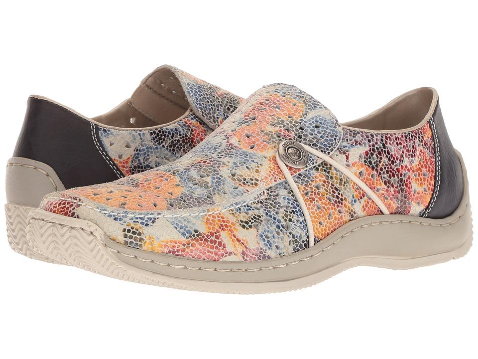 Rieker - L1766 (Ice/Multi/Ozean) Womens Shoes