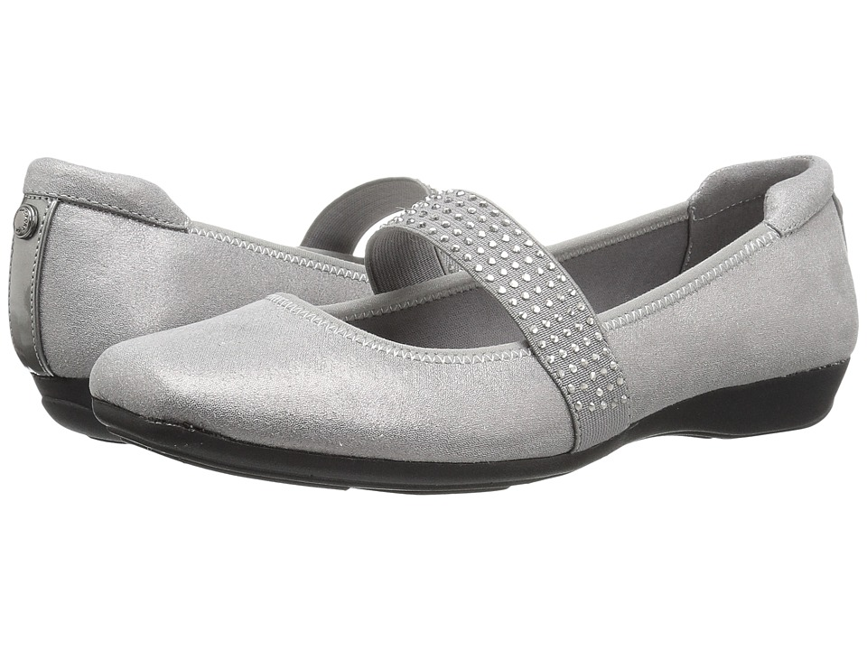Anne Klein Up All Night (Pewter Multi/Light Fabric) Women's Shoes