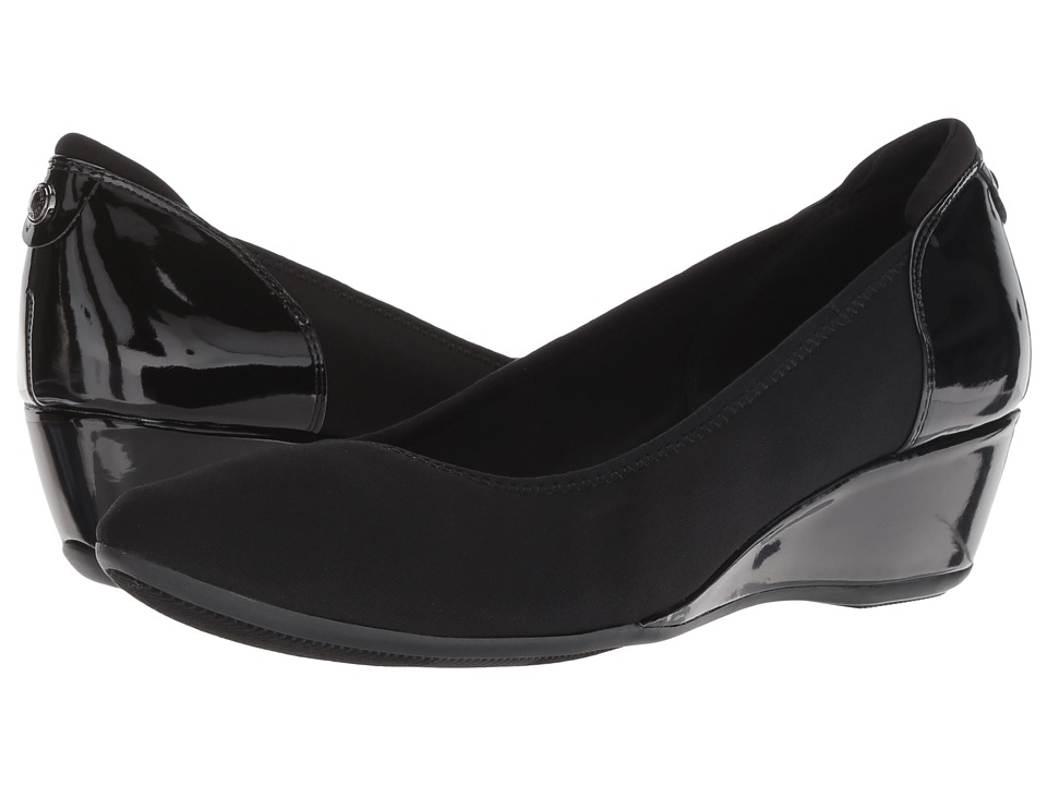 Anne Klein Follow (Black Multi/Light Fabric) Women's Shoes