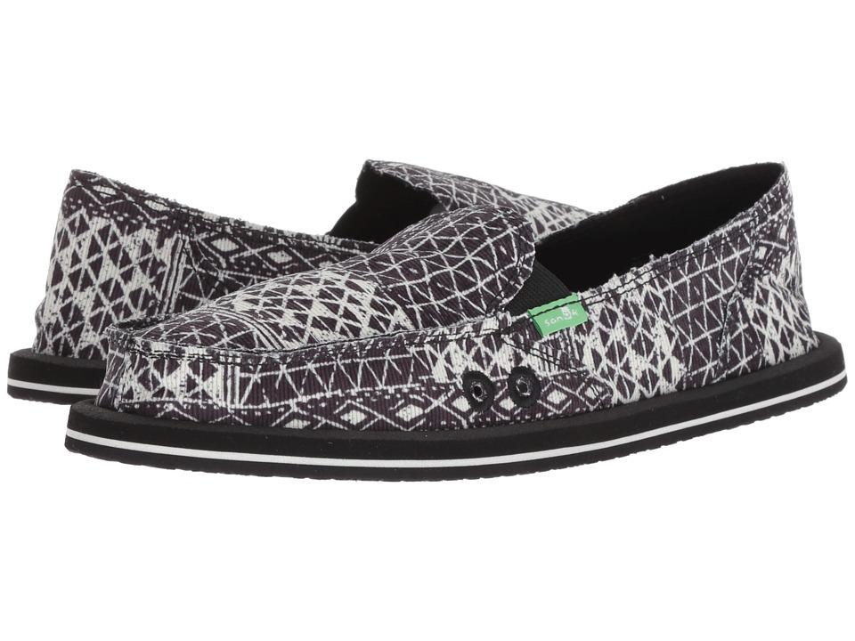 Sanuk Donna (Black 1) Slip-On Shoes