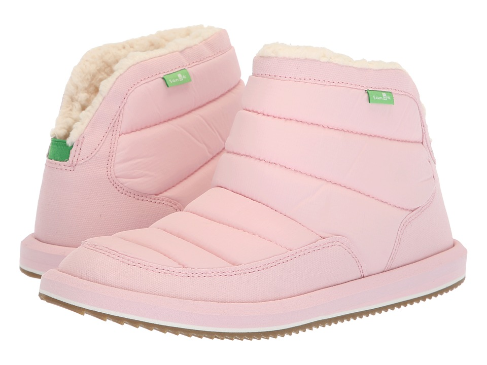 Sanuk Puff N Chill (Chalk Pink) Slip-On Shoes