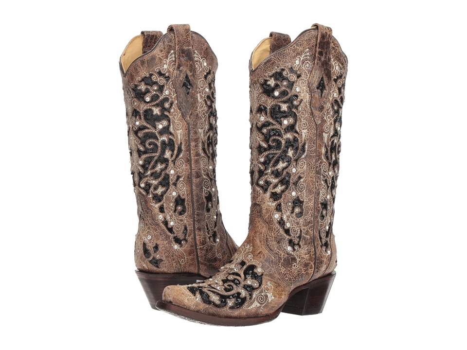 Corral Boots A3569 (Brown) Women's Cowboy Boots