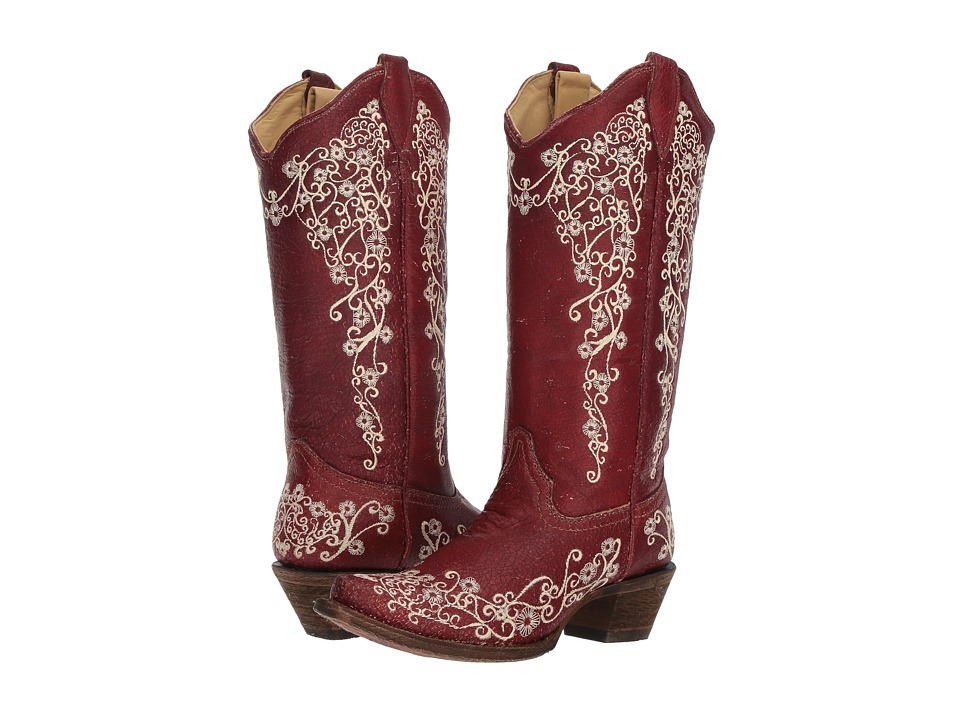 Corral Boots A3298 (Red) Women's Cowboy Boots