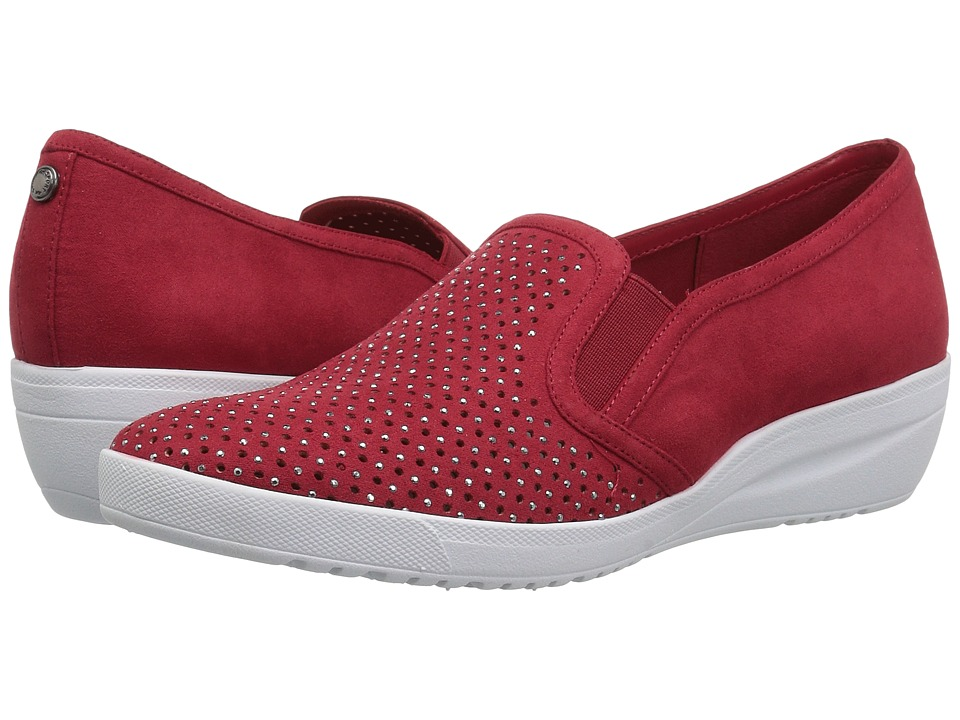 Anne Klein Yvanna (Red/Red Fabric) Women's Shoes