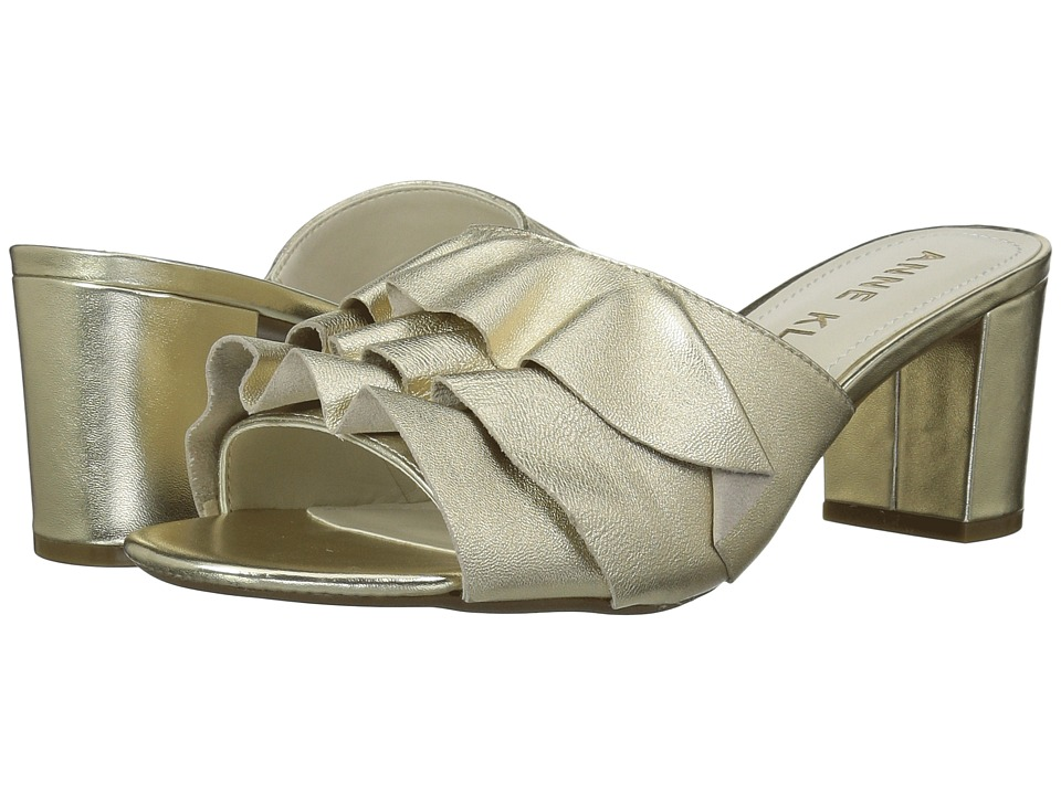 Anne Klein - Cerise (Gold) Womens Slide Shoes