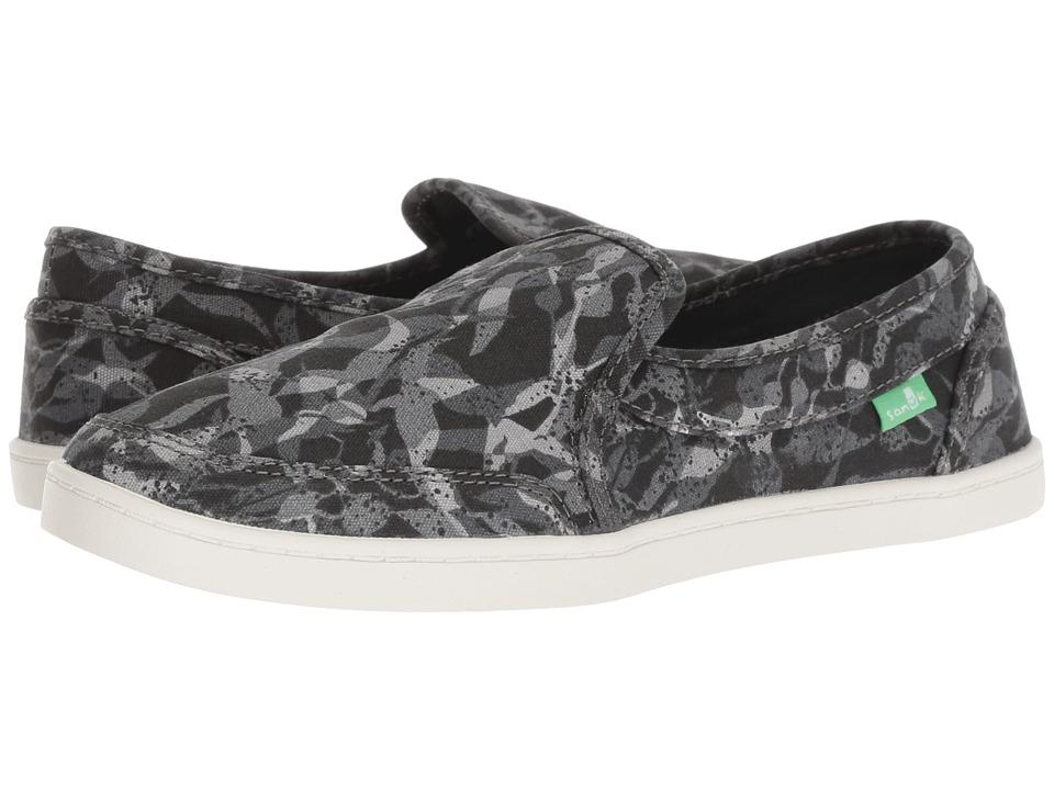 Sanuk Pair O Dice (Black Multi) Slip-On Shoes