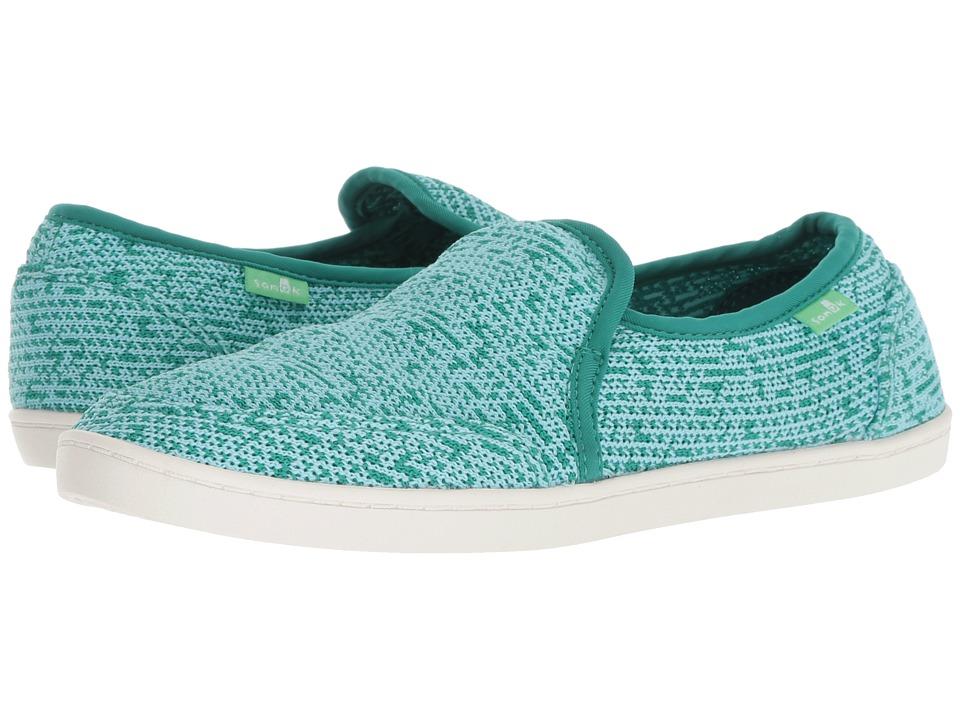 Sanuk Pair O Dice Knit (Parasailing) Slip-On Shoes