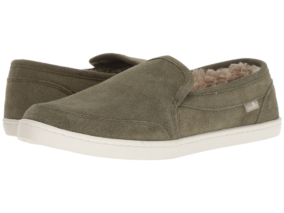 Sanuk Pair O Dice Chill (Burnt Olive) Women's Shoes
