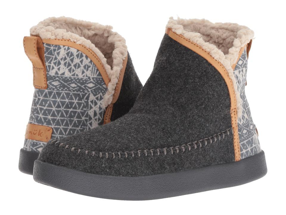 Sanuk Nice Bootah Ojai (Charcoal Grey) Women's Pull-on Boots