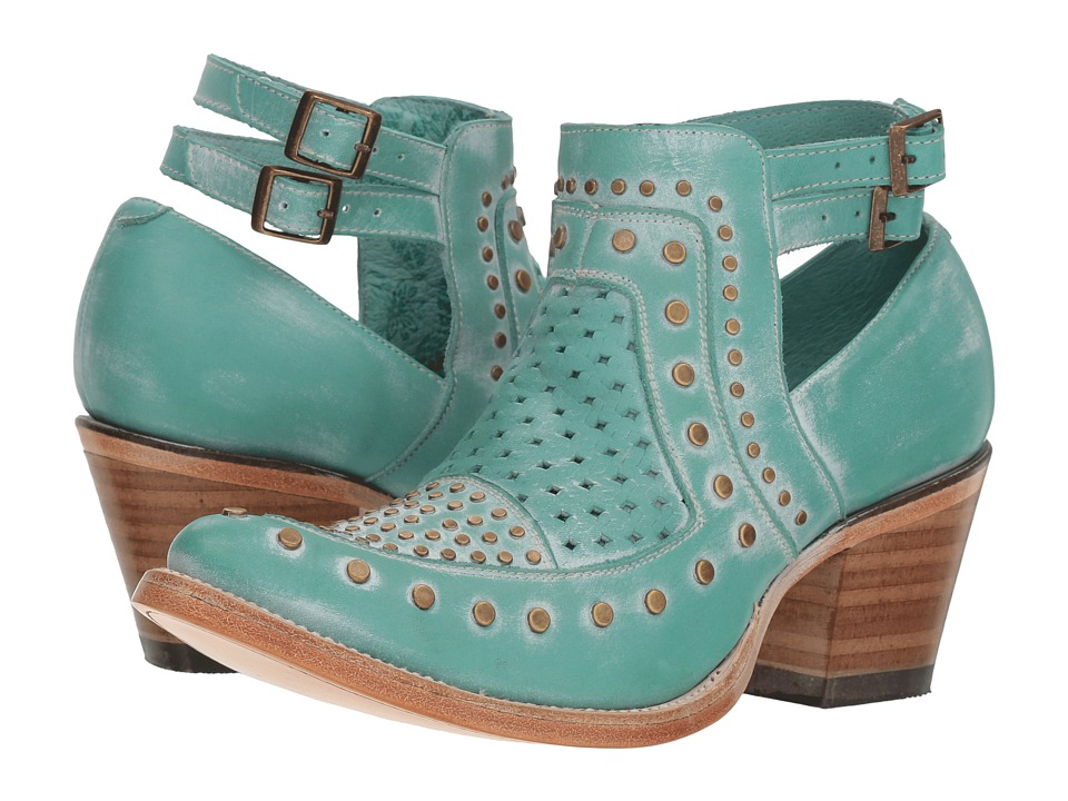 Corral Boots - E1403 (Turquoise) Womens Boots