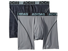 adidas Sport Performance Climacool(r) Graphic 2-Pack Boxer Brief