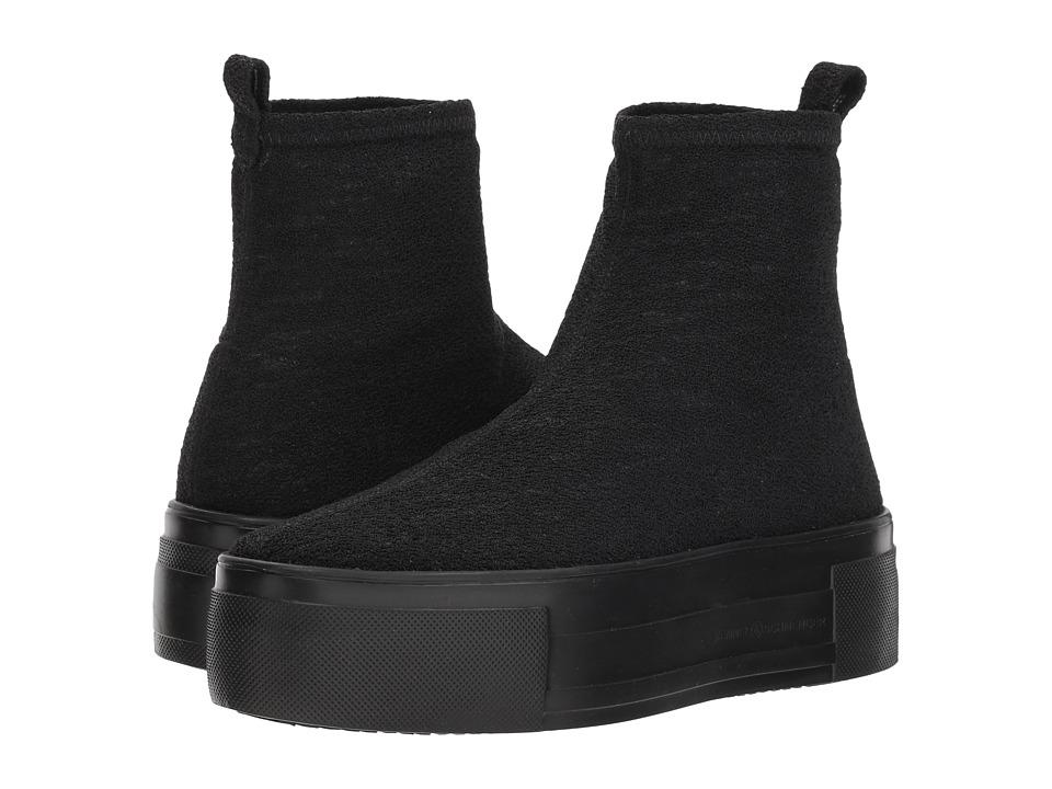 Kennel & Schmenger Top Stretch Sock Sneaker (Black Stretch Knit) Women's Shoes