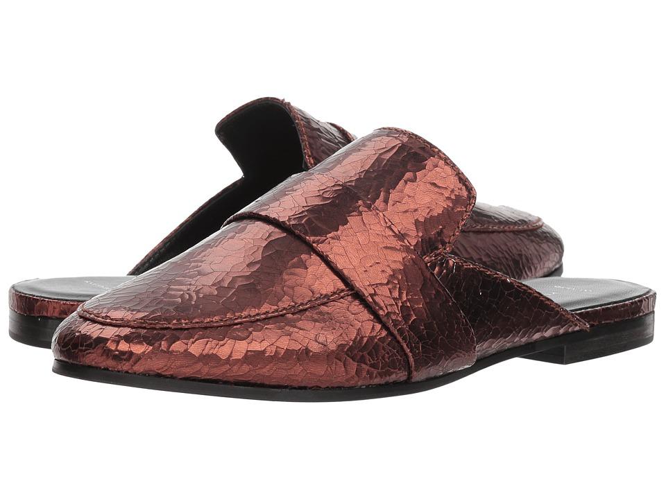 Kennel & Schmenger Tara Flat Mule (Frost Kid Suede) Women's Shoes