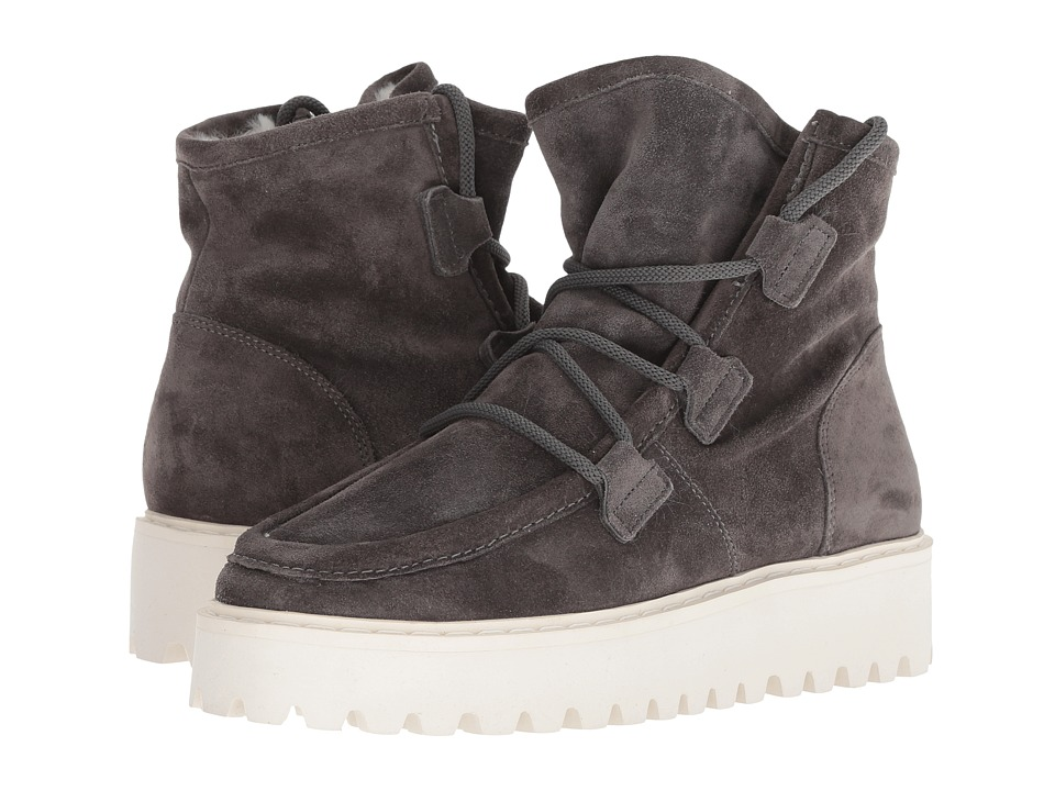 Kennel & Schmenger Hike Faux Fur Boot (Anthracite Suede)