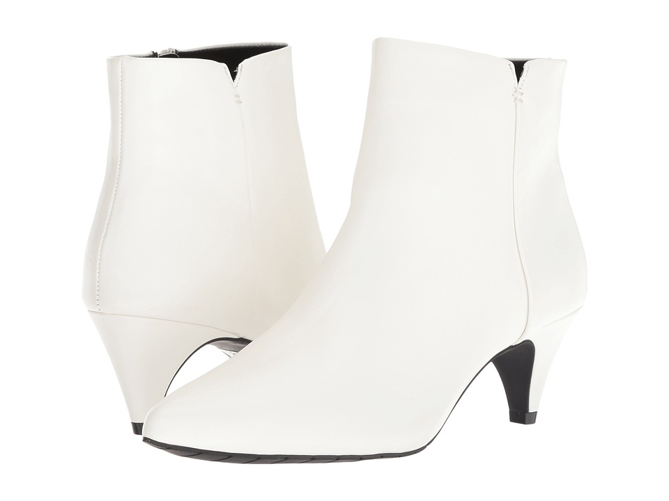 Kenneth Cole Reaction Kick Bit (White Smooth) Women's Shoes