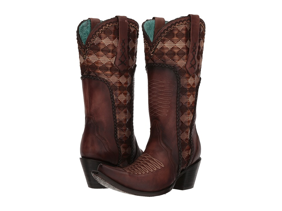 Corral Boots - C3384 (Honey) Womens Boots