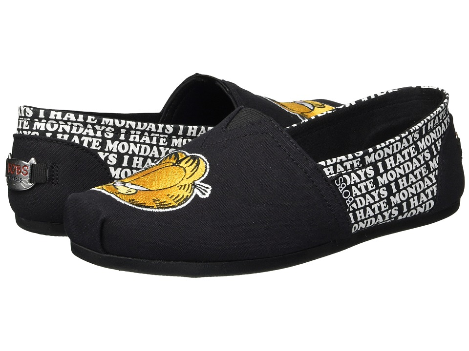 BOBS from SKECHERS Bobs Plush - Monday Blues (Black) Slip-On Shoes