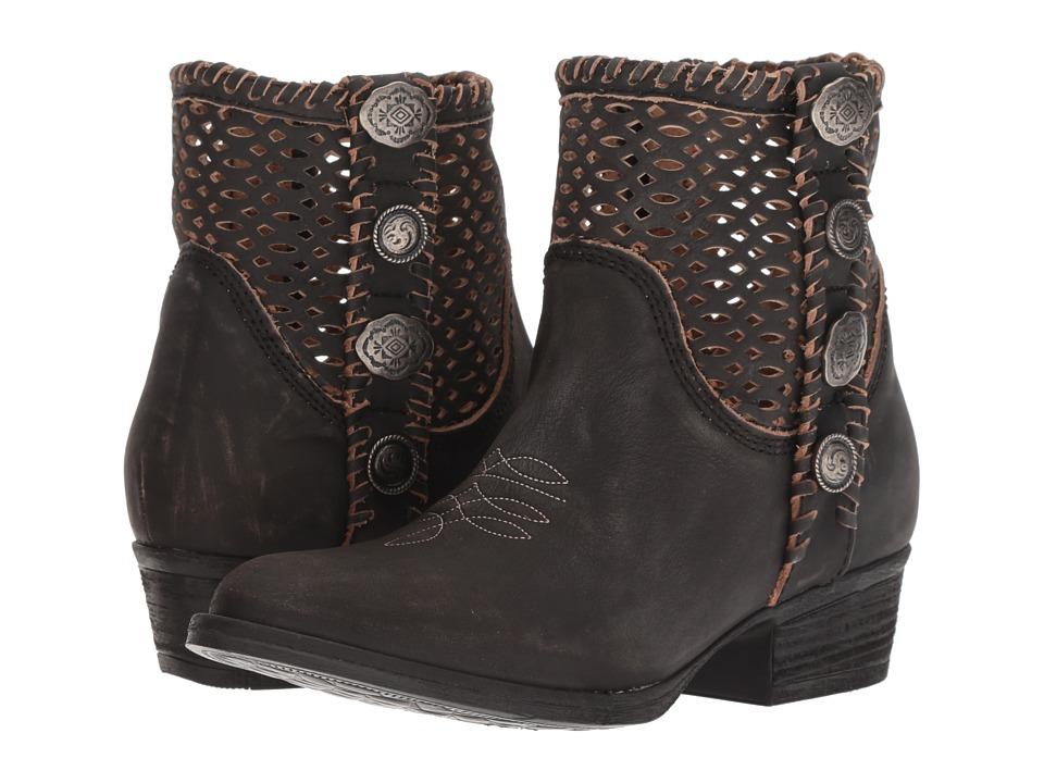 Corral Boots Q0117 (Black) Women's Cowboy Boots