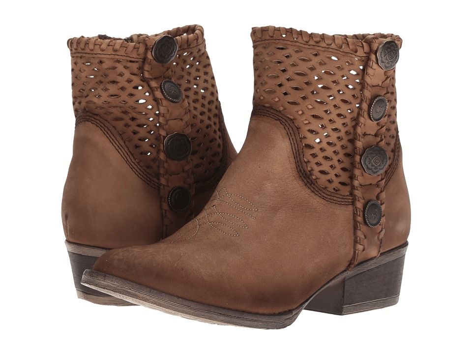 Corral Boots Q0118 (Chocolate) Women's Cowboy Boots