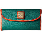 Dooney & Bourke Dooney & Bourke Pebble Leather New SLGS Continental Clutch