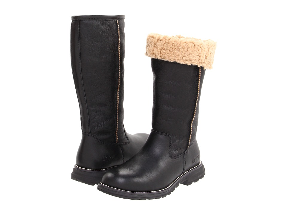 UGG Brooks Tall (Black) Women's Pull-on Boots