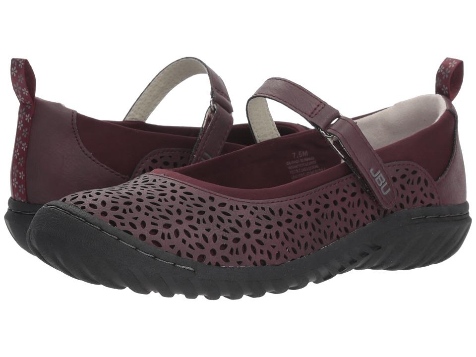 JBU Granada (Wine Solid) Women's Shoes