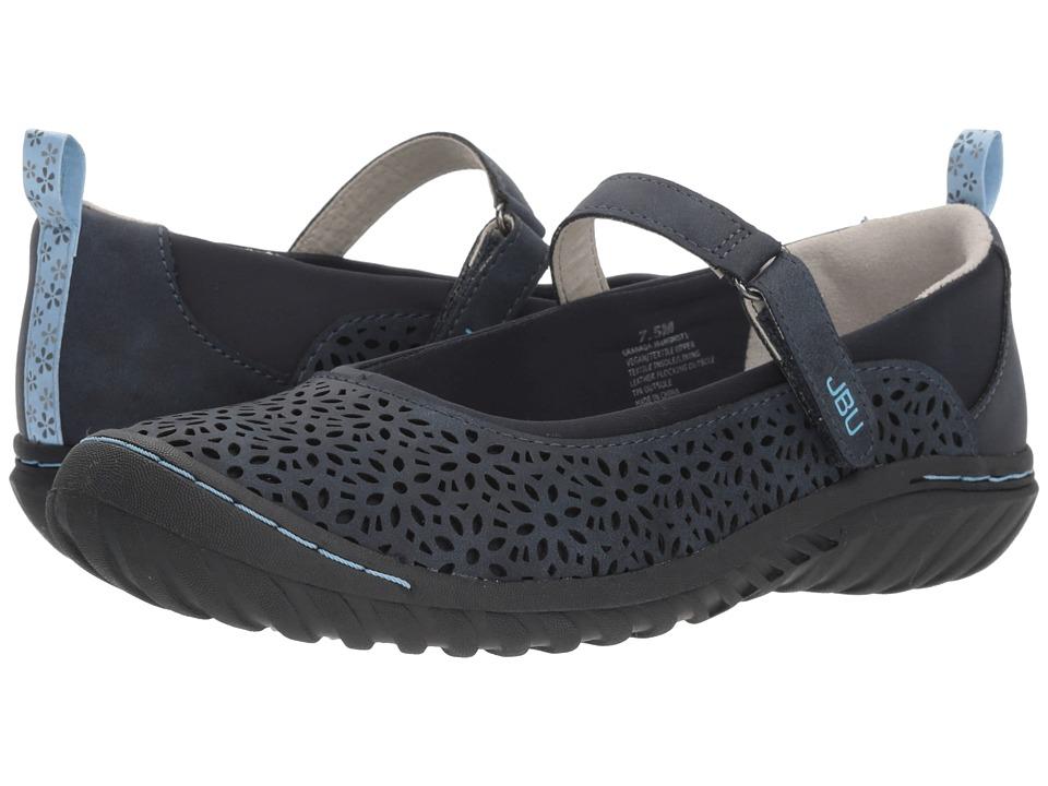 JBU Granada (Navy Solid) Women's Shoes