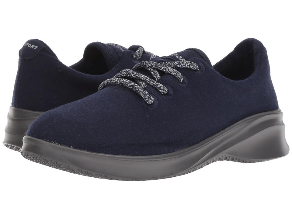 JBU Crane Wool Lace-Up (Navy) Women's Shoes