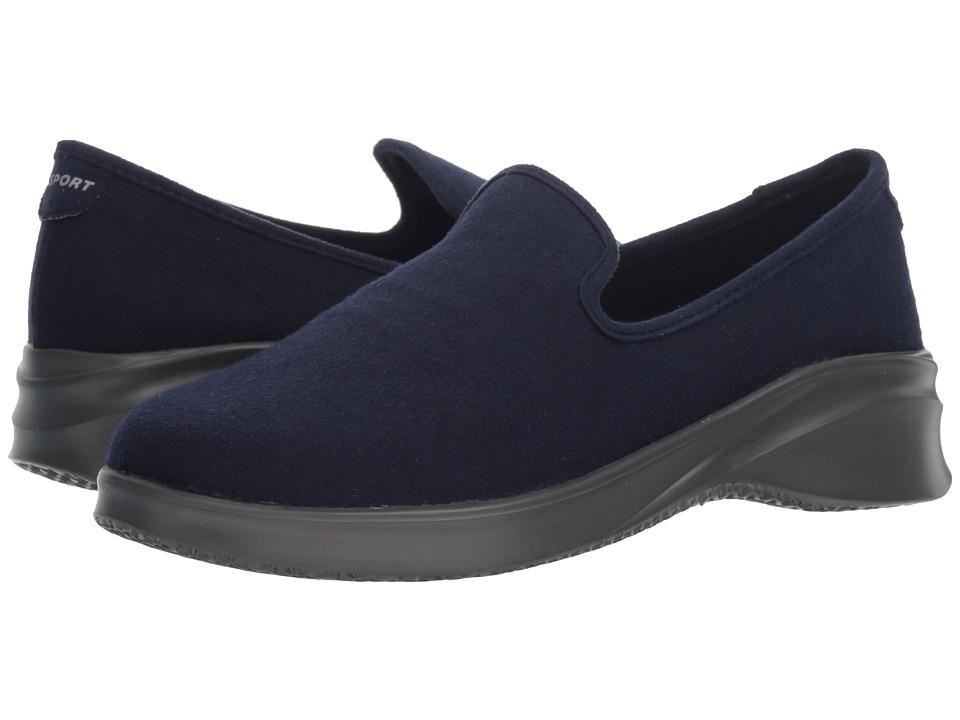 JBU Loon Wool Slip-On (Navy) Women's Shoes