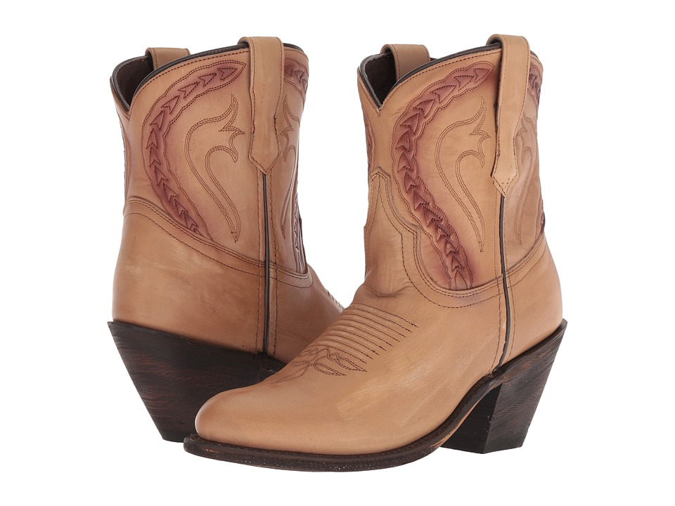 Dingo Dusty (Biege Leather) Cowboy Boots