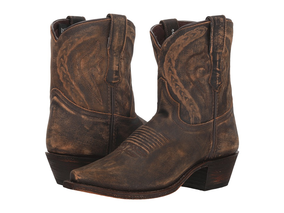 Dingo Annie (Brown Leather) Women's Cowboy Boots