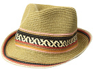 Steve Madden Fedora with Tribal Band