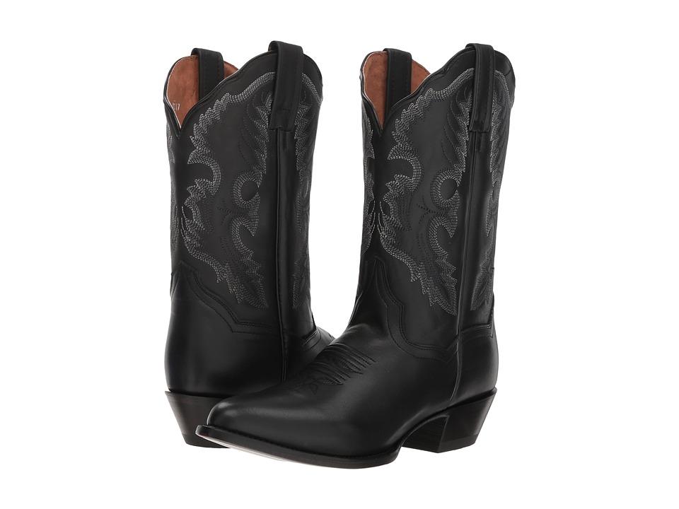 Dan Post Bev (Black Leather) Women's Cowboy Boots