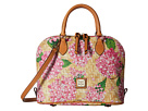 Dooney & Bourke Dooney & Bourke Hydrangea Basket Weave Zip Zip Satchel