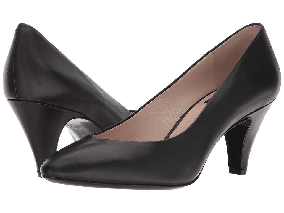 Nine West - Faith 40th Anniversary Pump (Black Leather) Womens Slip on  Shoes